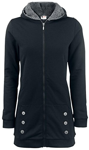 Pussy Deluxe Teddy Fleece Coat Felpa jogging donna nero S