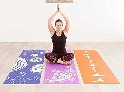 Design-Yogamatte »Avatara ClassicÂ« / Die ideale Yoga Matte für Einsteiger und Anfänger mit schönem Motivaufdruck / Maße: 183 x 61 x 0,3 cm / In vielen Farben erhältlich.