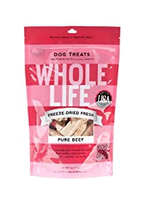 Whole Life Pet Products Pure Meat All Natural Freeze Dried Beef Filet Treats for Dogs, 4-Ounce at Sears.com