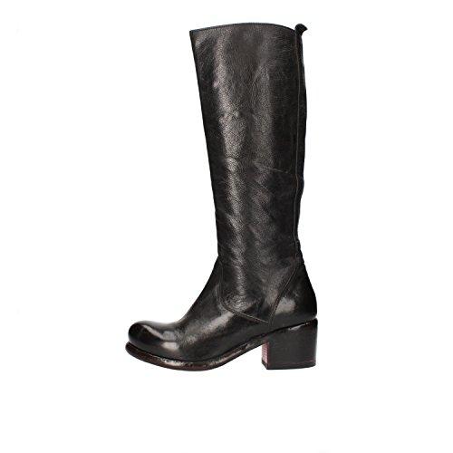MOMA 37 EU stivali donna nero pelle AF265