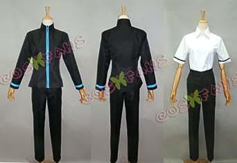 cos670黒子のバスケ 黒子テツヤ 誠凛高校 制服コスプレ衣装(女性M)