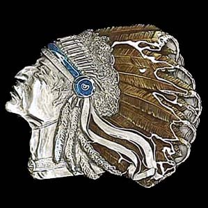 Set of 2 Pewter Belt Buckle - Pontiac Indian - Pewter Belt Buckle - Buy Set of 2 Pewter Belt Buckle - Pontiac Indian - Pewter Belt Buckle - Purchase Set of 2 Pewter Belt Buckle - Pontiac Indian - Pewter Belt Buckle (Siskiyou, Siskiyou Belts, Siskiyou Womens Belts, Apparel, Departments, Accessories, Women's Accessories, Belts, Womens Belts)
