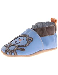Robeez Funky Monkey Crib Shoe (Infant/Toddler)