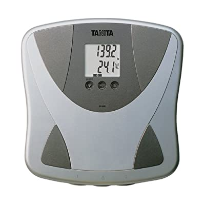 BF680W Tanita Duo Scale Plus Body Fat Monitor with Athletic Mode and Body Water