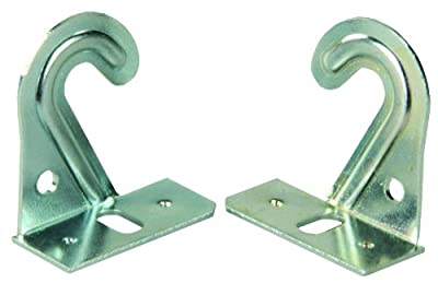 JR Products 81645 Hook-Style Mini Blind Hold-Down, (Pack of 2)