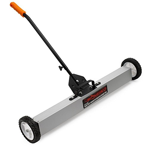 Neiko 53418A 36-Inch Magnetic Pick-Up Sweeper with Wheels | 30-LBS Capacity (Magnetic Broom compare prices)