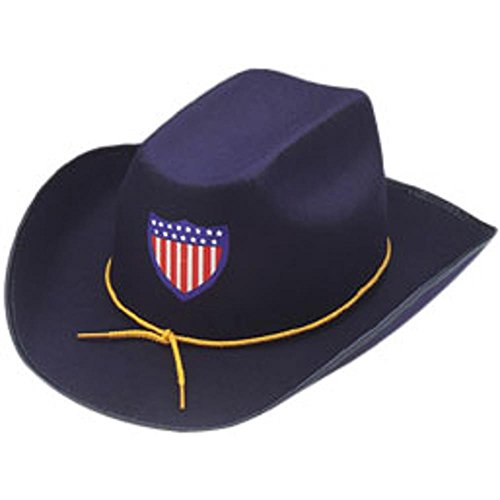 Adult Union Officer Halloween Costume Hat (Medium)