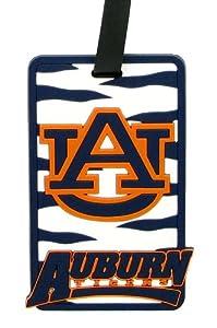 Buy Auburn Tigers - NCAA Soft Luggage Bag Tag by aminco