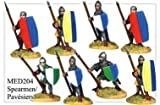 28mm Historicals - Medieval: Spearmen and Pavesiers