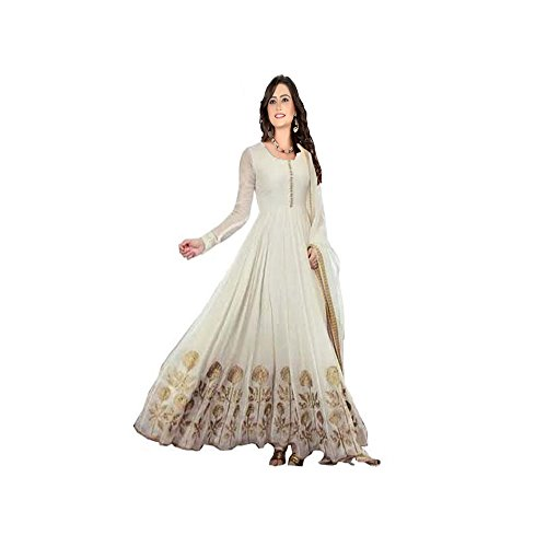 vaankosh fashion women exclusive & designer white latest bollywood & partywear dress meterials