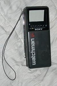Sony FD-2A Watchman Portable B/W Television