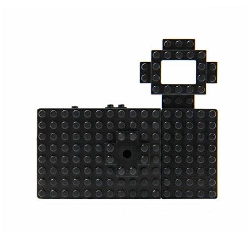 トイデジ nanoblock toy digital camera ナノブロック トイデジタルカメラ ブラック [HD1112]