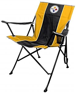 Pittsburgh Steelers Official NFL Tailgate Chair by Jarden 989324 from Jarden