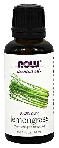 NOW Foods - 100% Pure Lemongrass Essential Oil - 1 oz.