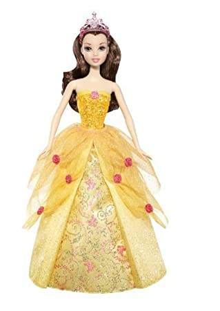 Disney Princess 2-In-1 Ballgown Surprise Belle Doll by Mattel