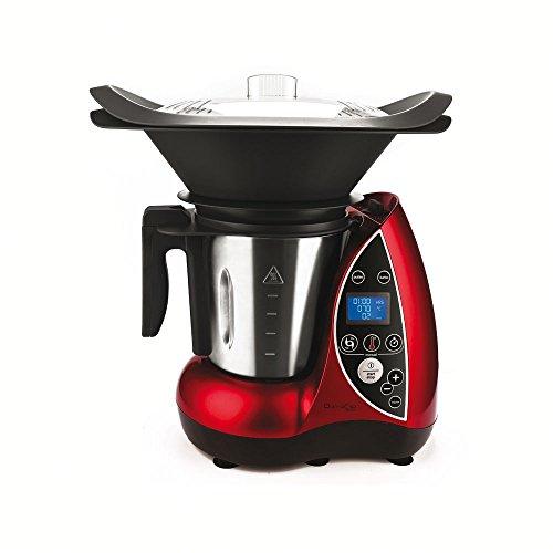 DOMOCLIP-DOP142-Robot-Culinaire-Chauffant-Rouge