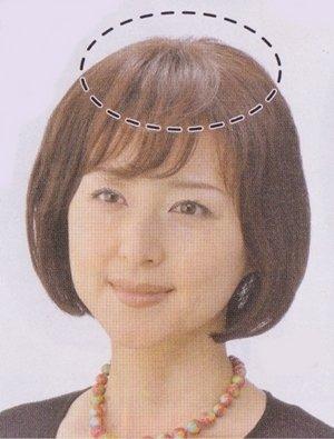 ヘアモアピースMHー10 #4栗色