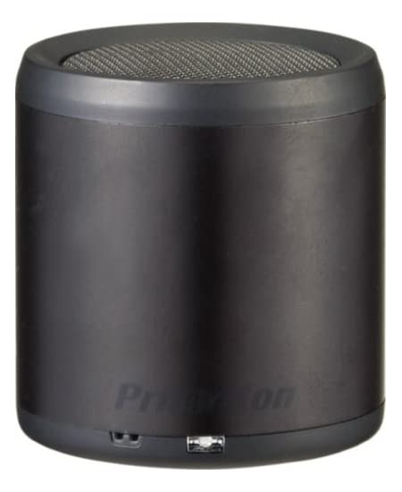 プリンストンテクノロジー iPod touch/iPhone/iPad用Bluetoothワイヤレスミニスピーカー BLUETUBE ブラック PSP-BTS1B