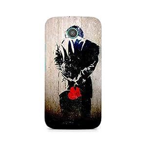 MOBICTURE Boy Premium Designer Mobile Back Case Cover For Moto E2