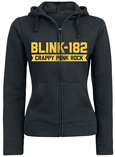 Blink 182 Barb Hood Felpa jogging donna nero L