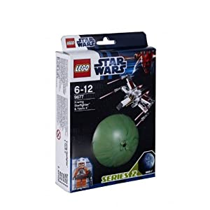LEGO Star Wars Planets 9677: X-Wing Starfighter and Yavin 4
