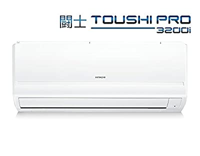 Hitachi RAU318KWEA Toushi Split AC (1.5 Ton, 3 Star Rating, White)