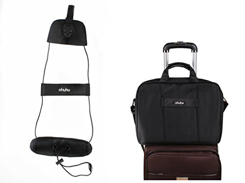 Great Features Of Ohuhu® High Quality Durable Black Bag Bungee - Makes Two Items Move As One, a Mus...