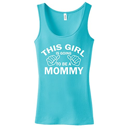 This Girl Is Going To Be A Mommy Ladies Tank Top front-333640