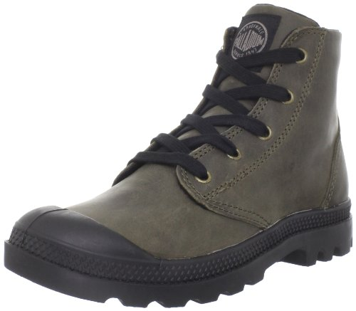Palladium Women's Pampa Hi Leather-W Chinchilla Walking Shoe 92355-311-M 5 UK