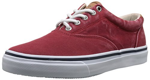 Sperry Top-SiderSTRIPER LL CVO CHILI RED - Scarpe da Ginnastica Basse uomo , Rosso (Rosso (Red)), 44 1/2 EU