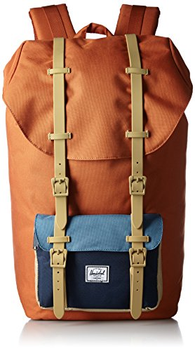 [ハーシェルサプライ] Herschel Supply 公式 LITTLE AMERICA 10014-00532-OS CARROT/NAVY/CADET BLUE/KHAKI RUBBER (CARROT/NAVY/CADET BLUE/KHAKI RUBBER)