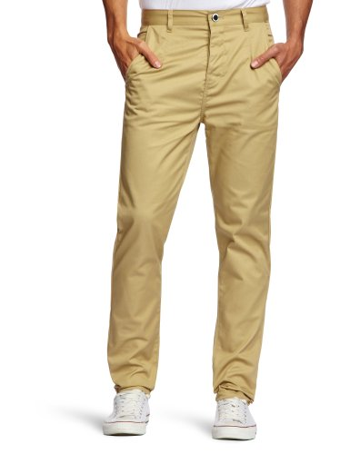 Humor Dean Tapered Men's Trousers Olive Gray 32