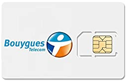 France Data SIM Card, Works Immediately, no registration required! 500MB, 1GB, 3GB, and 7GB Upgrades Available! FREE VoIP Calls!
