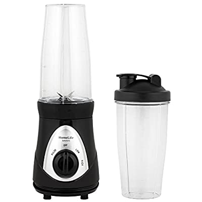 HomeLife Solutions 28 Oz Personal Blender with Two To-Go Mugs