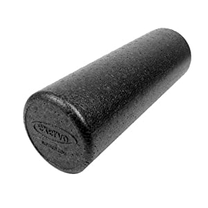 "Exervo Nimbus EnduraBead Pro Foam Roller 18"" x 6"" Full Round by Nefitco"