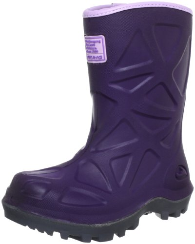 Viking Unisex-Child Polar Boots 2220069126 Purple(purple/dark grey) 8.5 UK Child, 26 EU, Regular