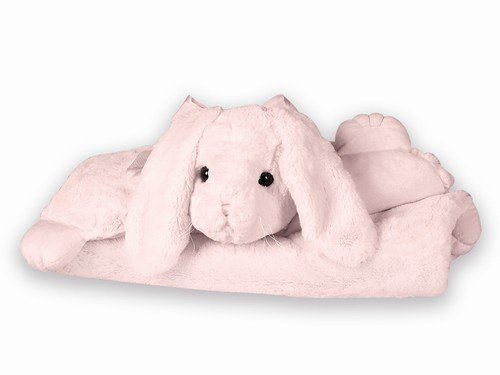 "Bunny Belly Blanket Mat 30"" by Bearington - 1"