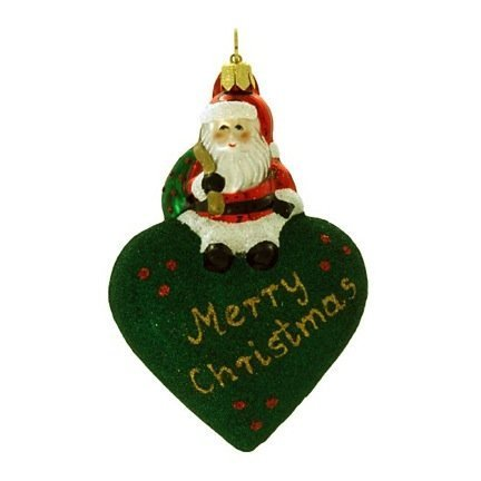 Landmark Creations From Santa With Love: Merry Christmas Ornament, 3′