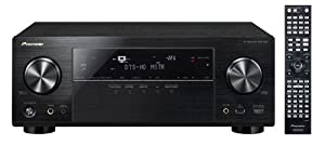 Pioneer Channel AV Receiver, VSX-1123-K (Black)