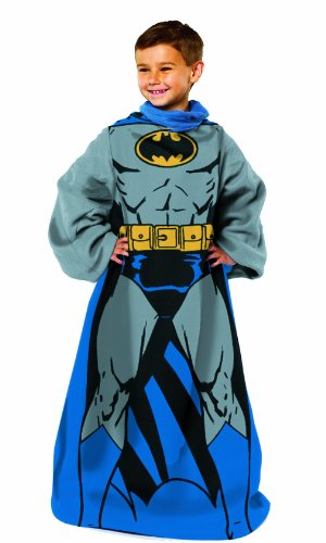 "Warner Brothers ""Batman, Being Batman"" Youth Comfy Throw at Gotham City Store"