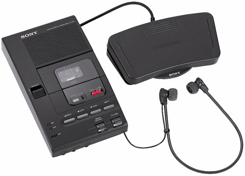 Sony M2000A Microcassette Transcribing Machine