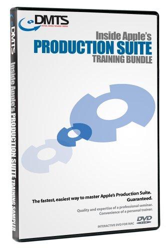 DMTS Inside Apple Production Suite Training Bundle (DVD ROM)