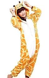 LATH.PIN Unisex Costume Animal Cosplay Onesie Adult Pajamas Anime Cartoon Sleepwear