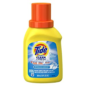 Travel Size Tide 10oz Refreshing Breeze Laundry Detergent
