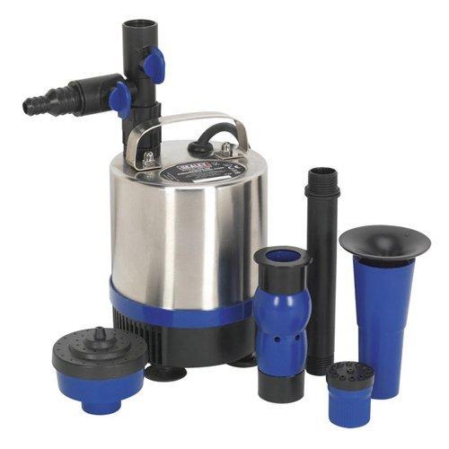 wpp1750s Tauchpumpe Teich Pumpe, Edelstahl, 1750Liter/h, 230V