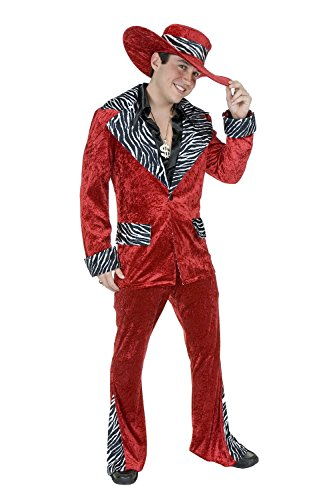Mac Daddy Pimp Costume Suit for any Costume Party Fun! No Hat