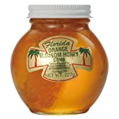 フロリダ オレンジハチミツ 巣入り 227g