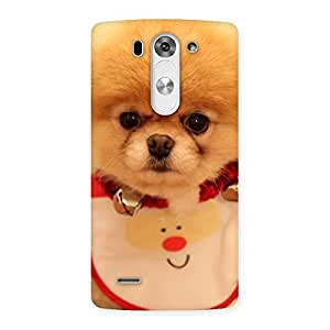 Cute Cutest Pup Multicolor Back Case Cover for LG G3 Beat
