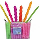 Soft 'N Style Spiral Rod Set 108 pieces