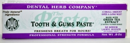 Dental Herb Company Dhc-Tgpts Tooth & Gums Paste Travel Size